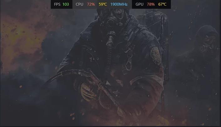 守望英雄怎么在游戏中显示CPU的占用率?